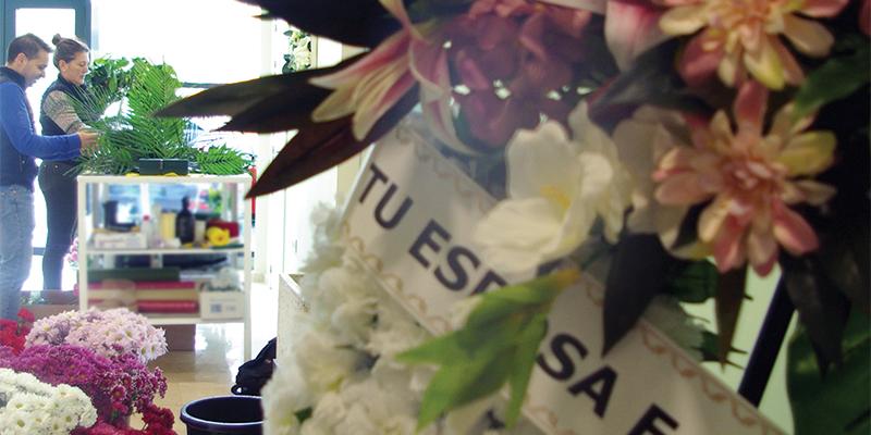 Servicio de floristería. Grupo Alborada, servicios funerarios en Cuenca