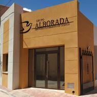Fachada de nuestro velatorio en Santa María del Campo Rus (Cuenca). Servicios funerarios del Grupo Alborada